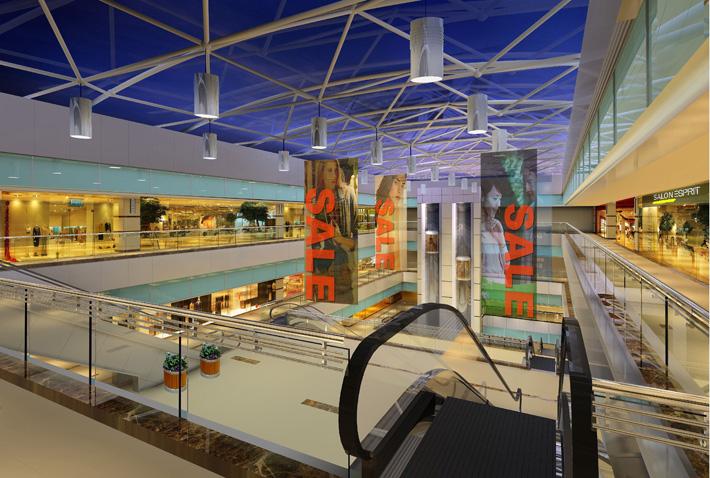 成都商场设计-好百年家居商场成都科华店