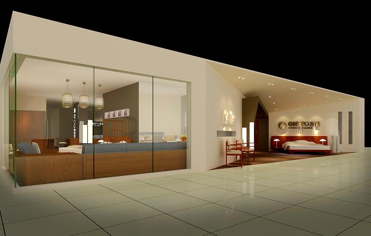 万普家具展厅设计工程案例