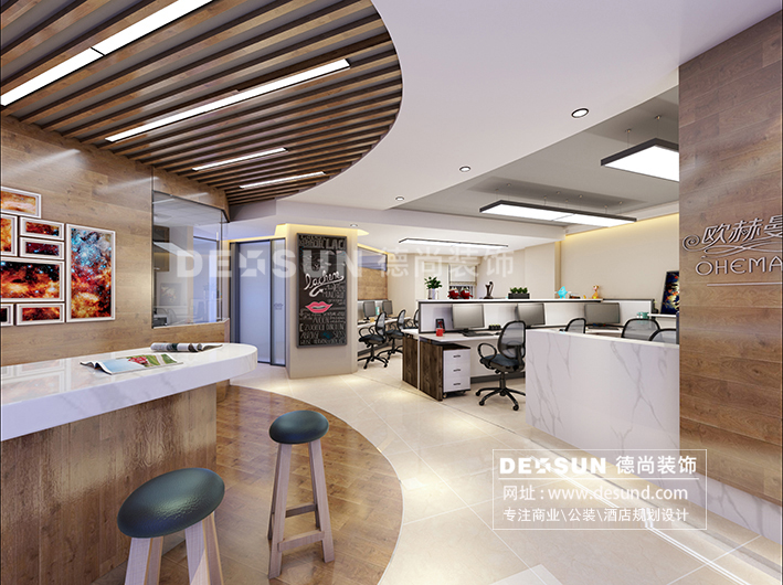 现代办公室装修设计新格局