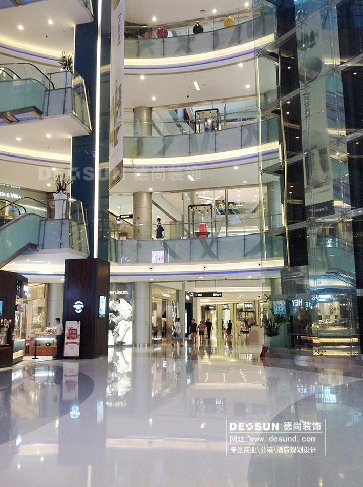 大型商场中庭装修设计效果图 商场中庭装饰图片