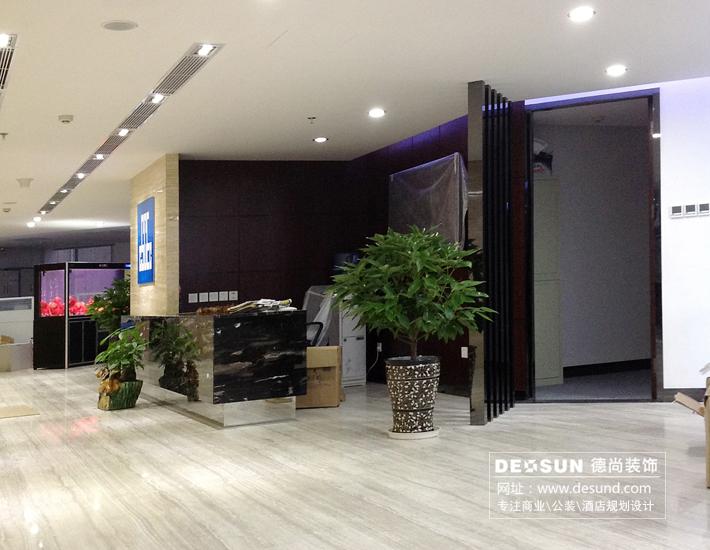 深圳办公室装修设计案例-中建二局鲁班大厦办公室