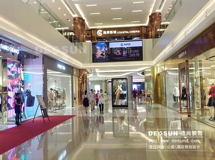 深圳商场装修 大型商场设计高清图片