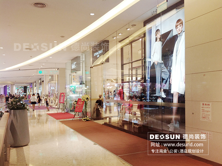深圳展厅装修设计-商业销售展厅装修效果图   商场