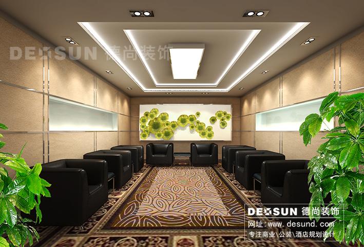 办公楼幕墙效果图-深圳写字楼装修设计 爱维艾夫写字楼装饰工程