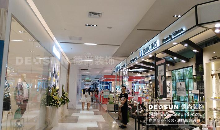 百货商场装修设计之深圳茂业天地