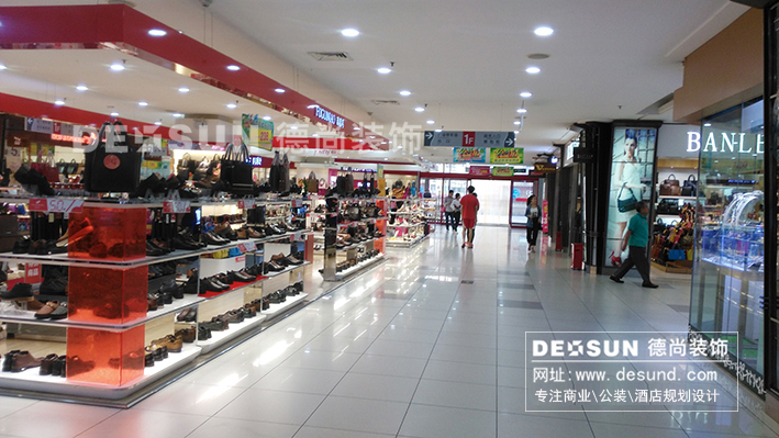 商场装修设计之深圳龙华大润发