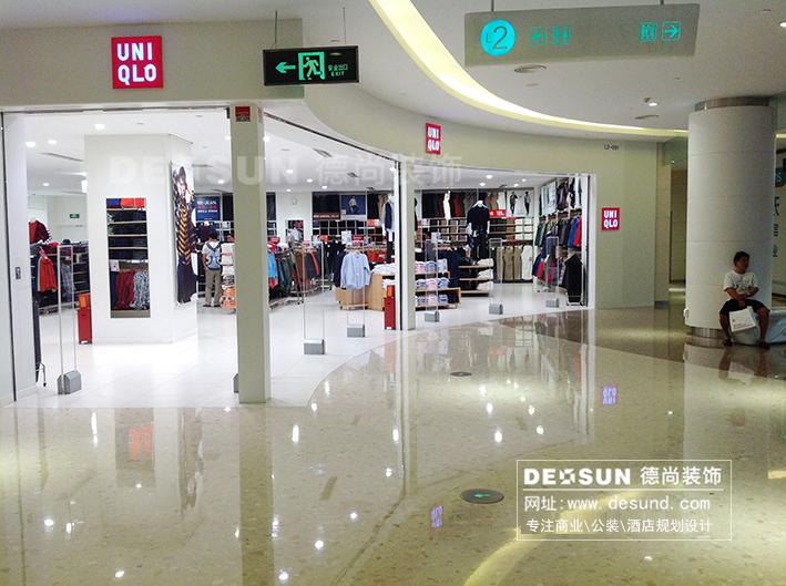 深圳服装店装修效果图,罗湖专卖店装修设计