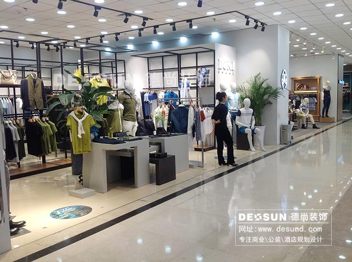 韩国女装服装店装修效果图-韩国女装服装店(phillip lim)设计