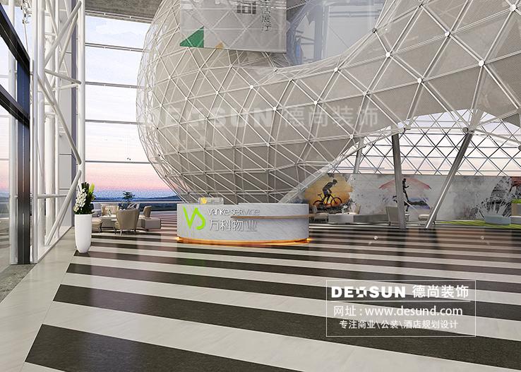 深圳办公室装修设计案例汇总